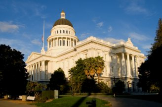 California state capitol photo