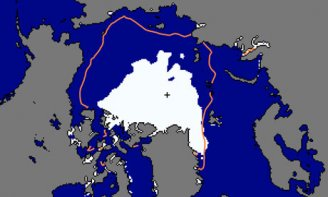 Arctic map photo