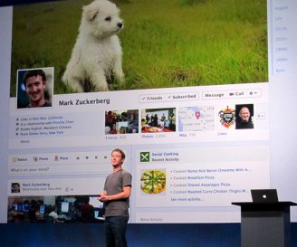 Facebook Timeline Zuckerberg photo