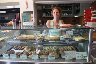 City hall snack counter Greece photo