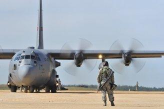 Military plane photo