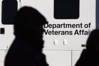 Veterans Affairs sign photo