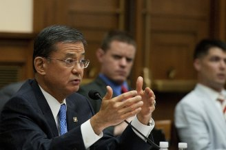 Sec. of Veterans Affairs Eric Shinseki photo