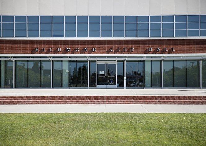 Pension Bonds - Richmond City Hall photo