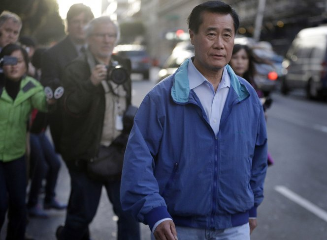 Leland Yee - release photo