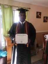 GI bill - David Pace graduation photo